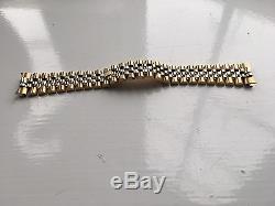 ROLEX 8386 BRAND NEW 18k GOLD JUBILEE BRACELET RRP £12,000
