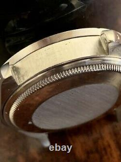 ROLEX OYSTER PERPETUAL DATE VINTAGE ORIGINAL CASE 1501 STAINLESS STEEL 34mm