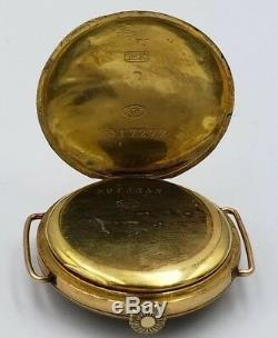 Rare 1912 Tiffany & Co 18K Wire Lug Watch Longines 10.85N Running
