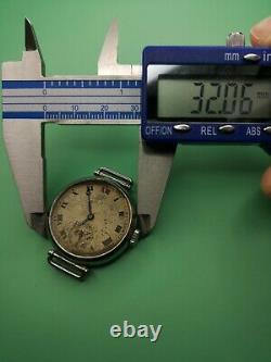Rare Longines for JW Benson 1930s Cal 12.68z Staybrite Watch for Restoration J83