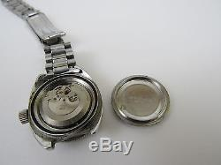 Rare Vintage Ladies EDOX Automatic Hydro Sub Diver Watch FOR PARTS or REPAIR