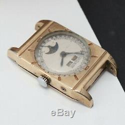 Rare Vintage LeCoultre Triple Date Moon Phase Caliber 486/AW Manual Watch Parts