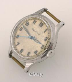 Rare Vintage Military style Jaeger LeCoultre caliber P478 with warranty / Swiss