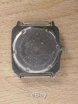 Rare Vintage Seiko 2628-004A Silverwave Cockpit Quartz watch 1982 Japan