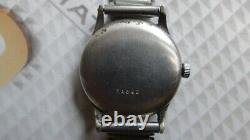 Record Datofix Triple Date Moonphase Watch AS IS for parts/repair