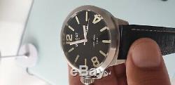 Reloj U-Boat clásico de coleccionista Italo Fontana left hook 53mm