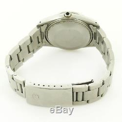 Rolex 1981 Oyster Perpetual Date 15000 Silver Dial S. S. Watch For Parts /repairs