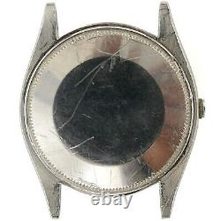 Rolex Air King 5500 Automatic Stainless Steel Mens Watch Head For Parts/repairs