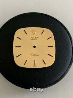 Rolex Cellini Champagne Dial with 18K Gold Large Watches Watch for Parts