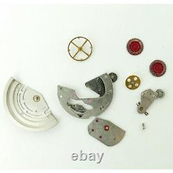 Rolex Datejust 16014 Silver Dial Mens Watch Head+movement+parts For Parts/repair
