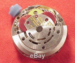 Rolex Datejust 2135 Wristwatch Movement 29 jewel Diamond Dial beautiful starts
