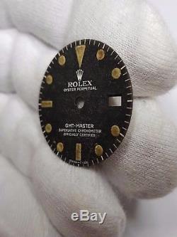 Rolex GMT MASTER Vintage Dial 1675