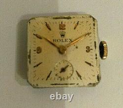 Rolex Movimento Carica Manuale Diam. 18mm. Corona Originale Da Revisionare
