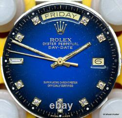 Rolex President Day Date Oyster Perpetual Dial Hands Crown 3055 Movement Only