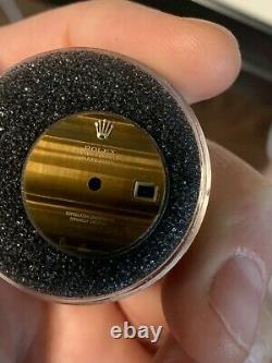 Rolex Vintage Tiger Eye Dial for President Watch Rare Datejust 26mm for Parts
