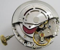 Rolex Watch Movement 3035 hack second for project or parts keep time