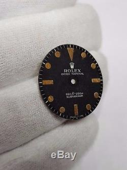 Rolex dial submariner 5513 vintage