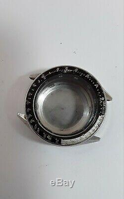 SEIKO 6139 6041chronograph watch case original Japan vintage parts Rare