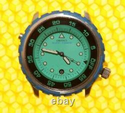 SEIKO 8C25-0010 SURF-TIMER Quartz Watch Screw-Crown 100M MADE IN JAPAN