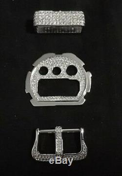 SET BUCKLE, STRAP BAND, DIAL Lab Diamond For G-SHOCK DW6900 And Baby G