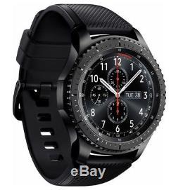 Samsung Galaxy Gear S3 Frontier SM-R765V Verizon LTE Smart Watch 46mm Black p