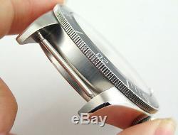 Sapphire 41mm watch Case + dial fit Miyota8205/8215, ETA 2836 Mingzhu 2813 p361