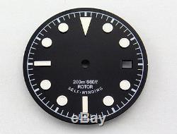 Sapphire 41mm watch Case + dial fit Miyota8205/8215, ETA 2836 Mingzhu DG2813, p361