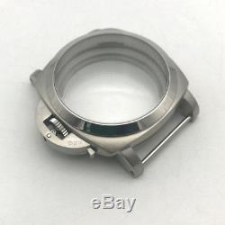 Seagull Parnis eta 6497 6498 movement 47mm PAM 316l stainless steel watch case