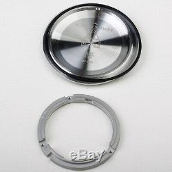 Seamaster ceramic bezel watch repair parts case kit fit eta 2824 movement