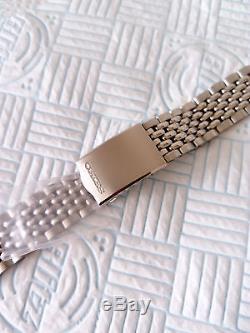 Seiko 5717,5719, Beads Of Rice Bracelet, Perfect fit, 60/70s, Genuine Seiko Nos