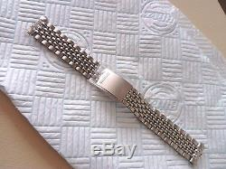 Seiko 5717, Beads Of Rice Bracelet, Perfect fit, 60/70s, Genuine Seiko Nos