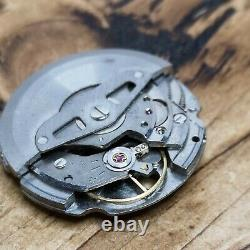 Seiko 6105a Automatic Watch Movement for Parts, Good Balance, HTF (S92)