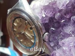 Seiko 6117 6010 Word Time Automatic