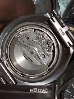 Seiko 6138-0041 Bullhead Chronograph Automatic Men Watch Not Working