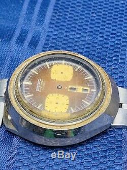 Seiko Bull Head Chronograph Watch 6138 Parts