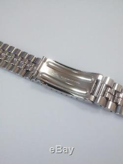 Seiko Panda 6138-8020, 6138, S/Steel Bracelet, Genuine Seiko/Stelux Nos, SALE