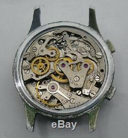 Sekonda Strela 3017 for Repair Broken Balance / Sekonda Poljot 3017 Chronograph