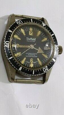 Sheffield Allsport Automatic 10atm 1970s Diver Sub-not run 36mm