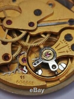 Smiths JW Benson Cal 60466E (Military Cal.) Hacking Watch Movement 17 Jewels