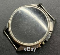 Swedish Military Lemania TG Stainless Steel Case For Cal. 2225