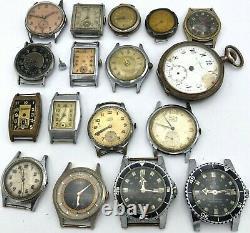 Swiss Vintage Watch PARTS GUB MORTIMA MADIX HERMA ORSA DROZ FERO Absolut Relgis