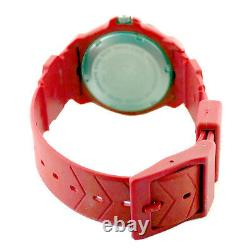 Tag Heuer 385.513 Formula 1 Prof Black Bezel Red Midsize Watch For Parts/repairs