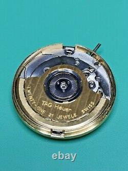 Tag Heuer ETA 2892 A2 Automatic Chronometer Watch Movement & Dial For Parts(S90)