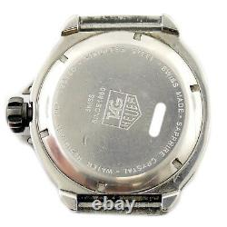 Tag Heuer Formula 1 Wac1112 Df6974 Watch Head For Part Or Repairs
