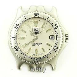 Tag Heuer Link S99.006m Prof Olive Dial S. S. 200m Watch Head For Parts/repairs