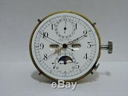 Tiffany quarters and minutes repeater Chronograph Swiss Pocket Watch Movement