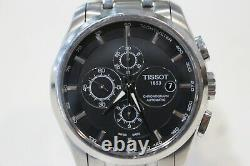 Tissot Couturier Automatic Chronograph Watch T035 For Part/Not Working