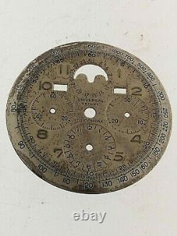 UNIVERSAL GENEVE QUADRANTE TRICOMPAX DIAMETRO 32MM. (montato su calibro 278)