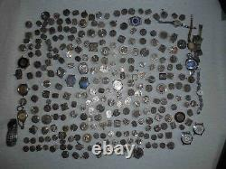 USSR Lot of 270 women watches movements for parts, Steampunk Art. SELL AS IS