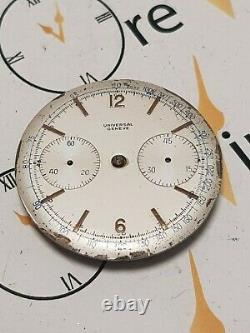 Universal Geneve Chrono Vintage Cal. 285 Dial